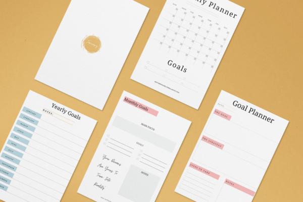 Goal Planning Printable Bundle