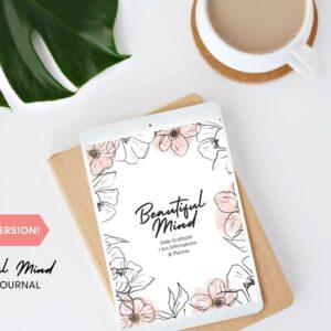 Digital 90 Day Mindset Journal